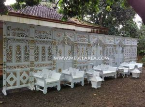 Set Decor Gebyok Pengantin