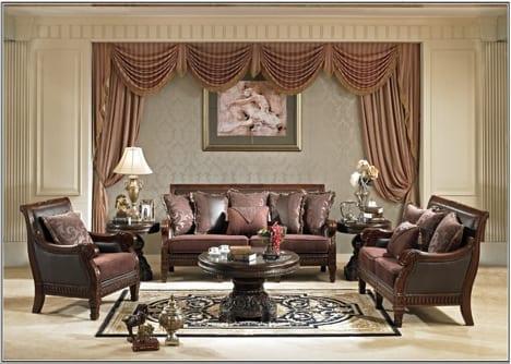 Sofa Tamu Ukiran Modern
