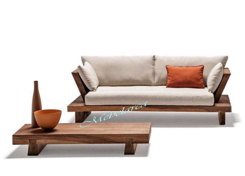 Sofa Meja Minimalis Trembesi-Modern