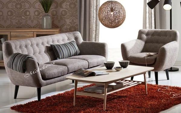 Set Sofa Tamu Retro Robert