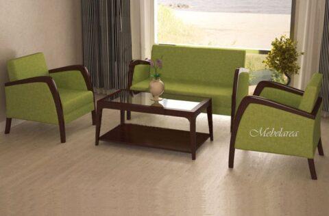 Sofa Tamu Minimalis Jati