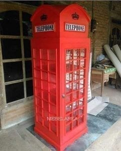Lemari Hias Telephone