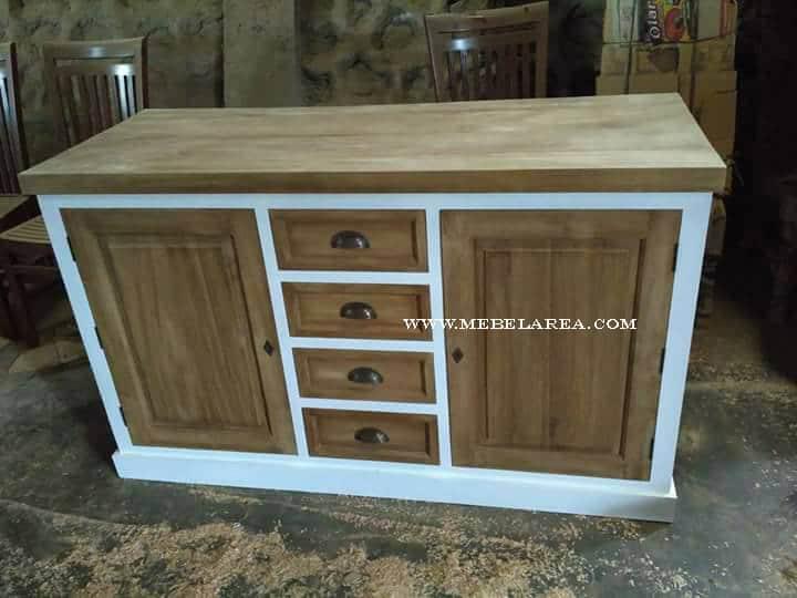 buffet cabinet kayu, bufet modern, cabinat kayu jati, cabinet minimalis, buffet minimalis modern, bufet warna natural