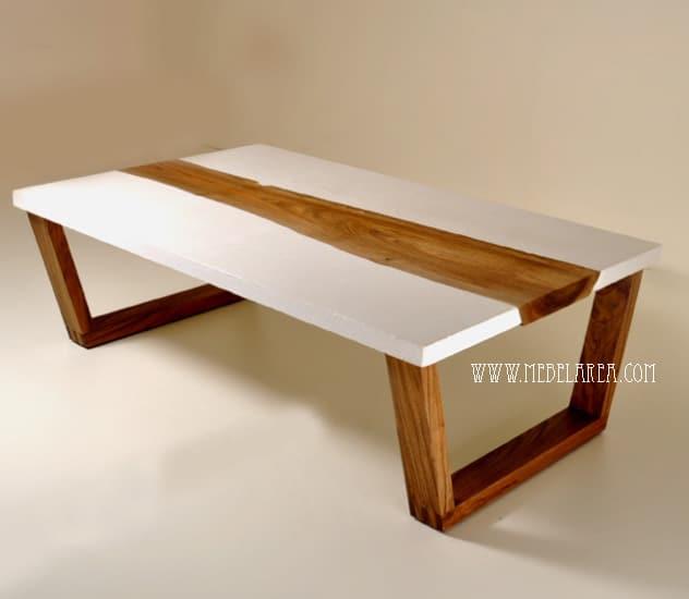 meja coffe, teak coffe table, meja tamu kayu modern, meja kopi minimalis