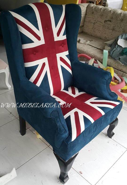 gambar kursi sofa inggis modern kayu jati harga murah