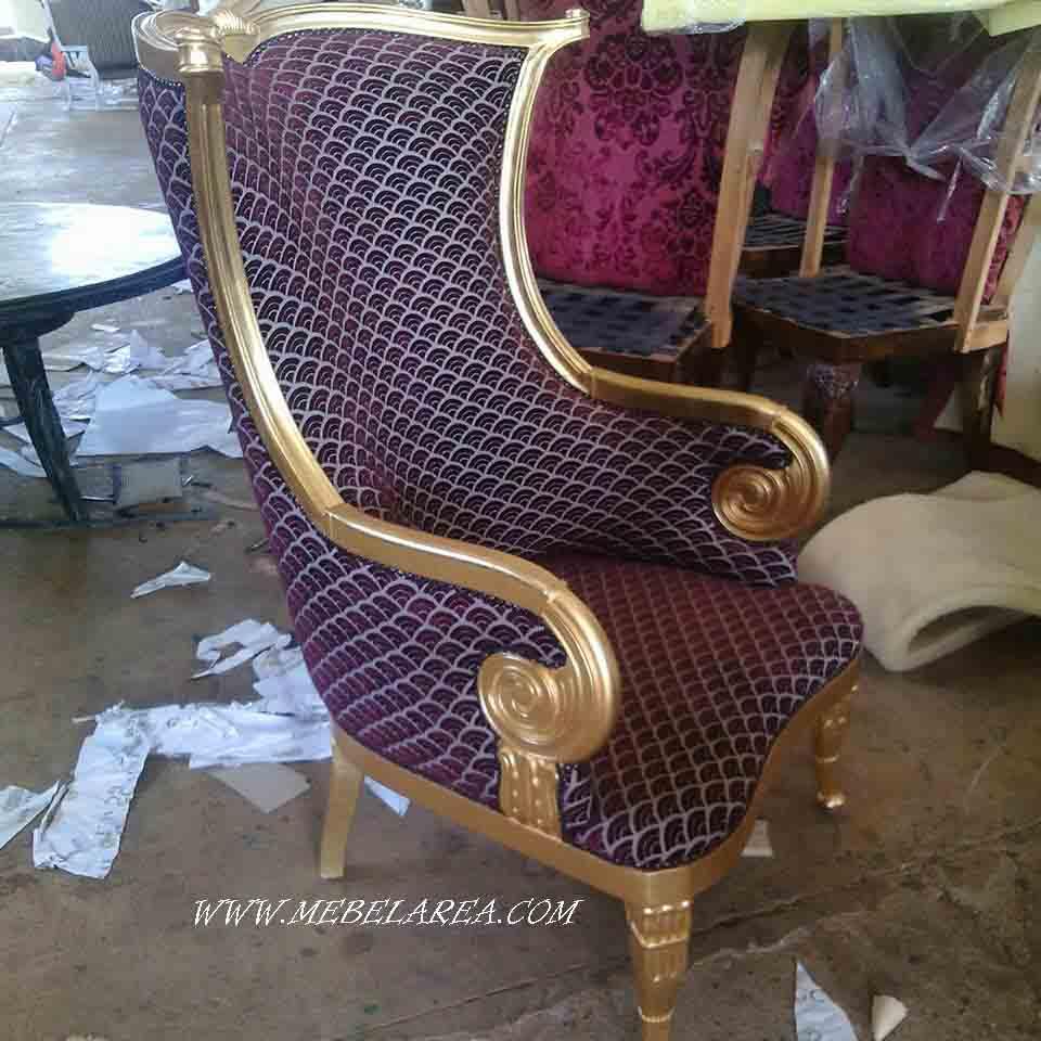 kursi sofa mewah model eropa elegan