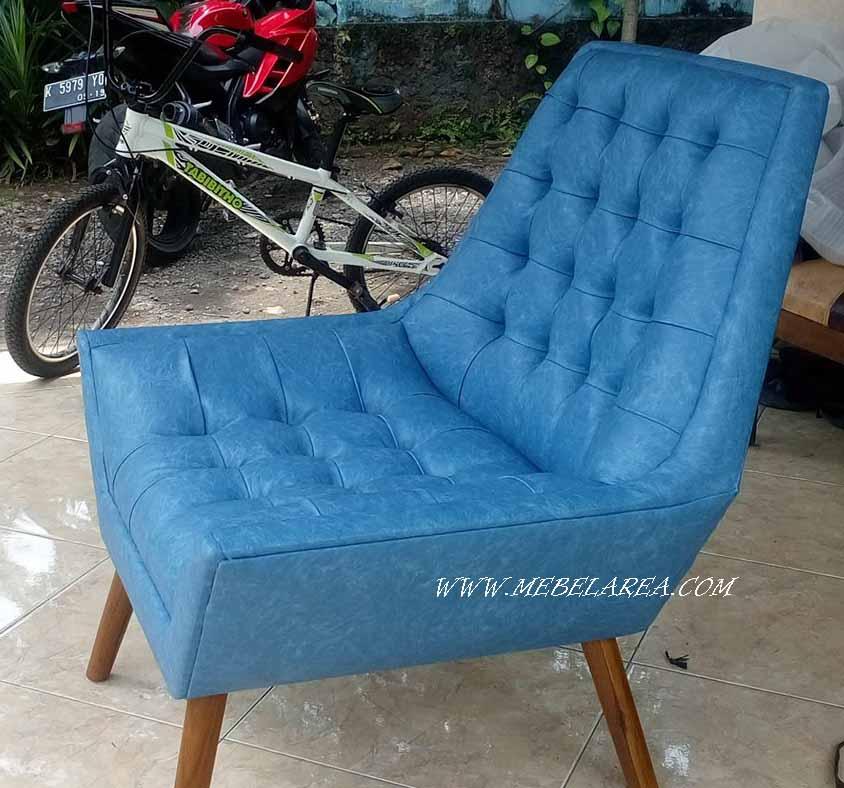 kursi sofa modern minimalis kayu jati model terbaru