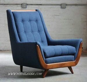 kursi sofa vintage jati minimalis modern