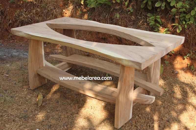 Coffe Table Suar Solid Antik