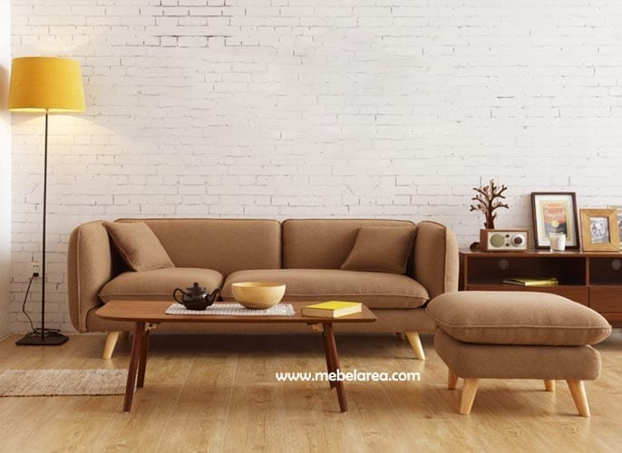 Sofa Minimalis Jati Modern