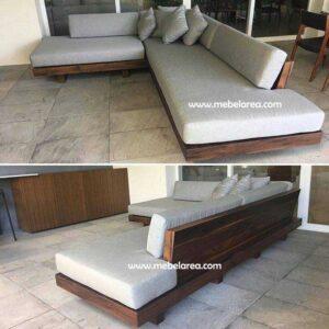 Sofa Minimalis Kayu Solid