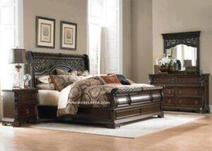 1 Set Tempat Tidur Ukir Jepara