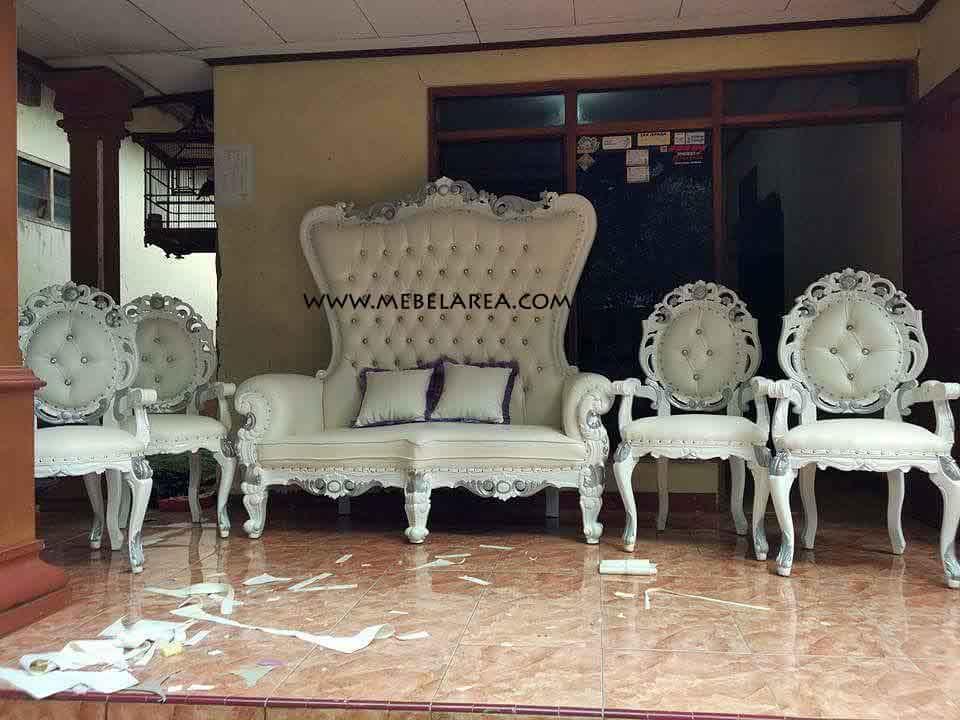 Produksi Set Sofa Pelaminan Pengantin Model Terbaru Cantik