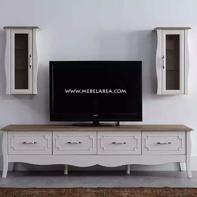 Meja Tv Duco Putih