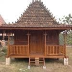 Rumah Kayu Jati Taman
