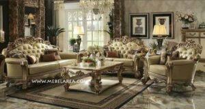 Set Sofa Tamu Ukir Eropa