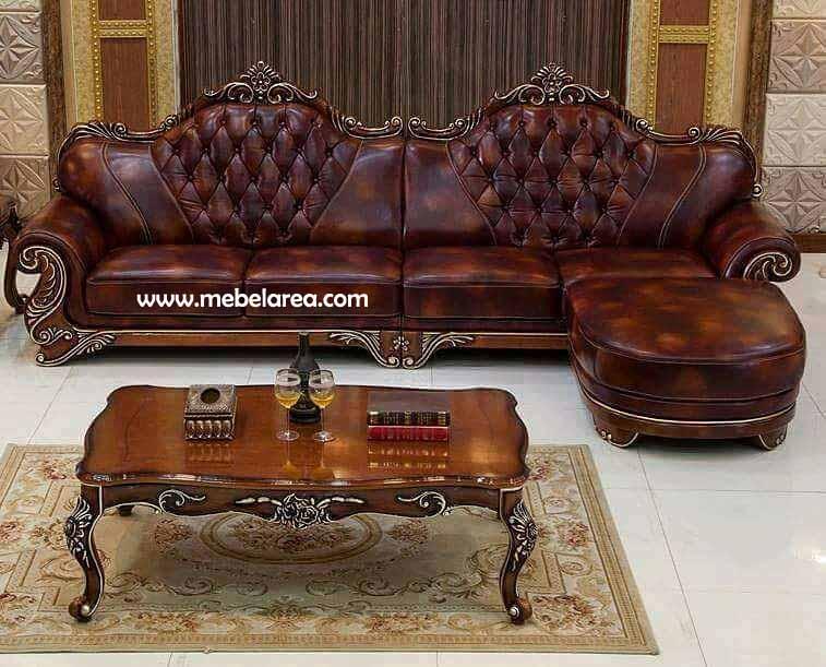 Sofa Tempat Nonton Tv Mewah Model Eropa