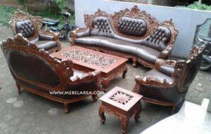 Set Sofa Tamu Barcelona Mewah