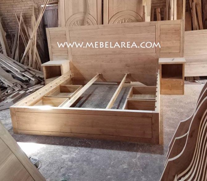 Jual Furniture Tempat Tidur Minimalis Jati Di Jepara Dan Jakarta