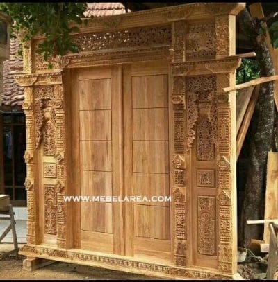 Jual Furniture Pintu Gebyok Ukir Jati Jepara