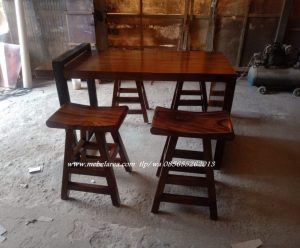 Set Kursi Meja Bar Trembesi