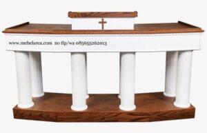 Mimbar Gereja Katolik 8 Tiang