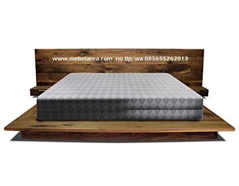 Tempat Tidur Minimalis Kayu Jati Jepara Model Terbaru Desain Modern